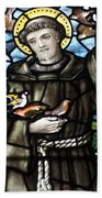 St. Francis Of Assisi Beach Towel