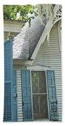 St Francisville Inn Windows Louisiana Beach Towel