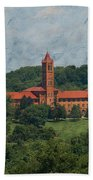 St. Gabriel's From Valley Forge Beach Towel