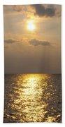 St George's Island Sunset Beach Towel