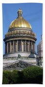 St Isaacs Cathedral Beach Towel