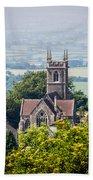 St James Church Shaftesbury Beach Towel