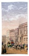 St James Palace And Conservative Club Beach Towel