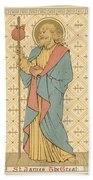 St James The Great Beach Towel