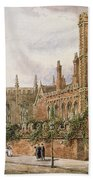 St. Johns College, Cambridge, 1843 Beach Towel