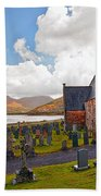 St  Johns Episcopal Ballachulish Beach Towel