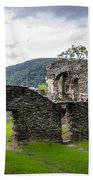 St. John's Episcopal Church Ruins  Harpers Ferry Wv Beach Towel