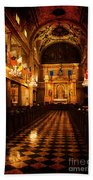 St. Louis Cathedral New Orleans - Textured Beach Towel