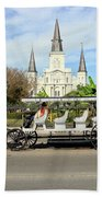 St Louis Cathedral New Orleans Beach Towel