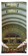 Ornate St. Louis Station Beach Towel