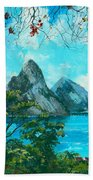 St. Lucia - W. Indies Beach Towel