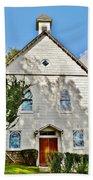 St. Luke African Methodist Episcopal Church - Ellicott City Maryland Beach Towel