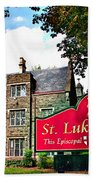 St Lukes Church Beach Towel