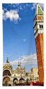 St Marks Square - Venice Italy Beach Towel