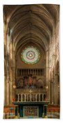 St. Mary Cathedral Basilica Of The Assumption Beach Towel