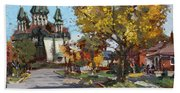 St. Marys Ukrainian Catholic Church Beach Towel