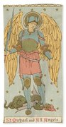 St Michael And All Angels By English School Beach Towel