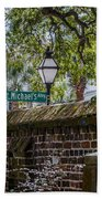 St. Michaels Alley Beach Towel