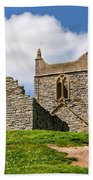 St Michael's Church - Burrow Mump 4 Beach Towel