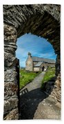 St Patrick Arch Beach Towel by Adrian Evans
