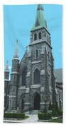 St Patrick Cathedral Beach Towel