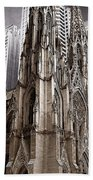 St. Patricks Cathedral  Beach Towel