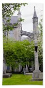 St Patricks Cathedral - Dublin Ireland Beach Towel