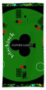 St. Patrick's Day Tournament - Featured In 'cards For All Occasions' Beach Towel