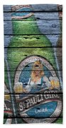 St Pauli Girl Beach Towel