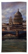 St. Paul's  Cathedral  - London Beach Towel