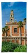 St. Peter's Church In Jaffa Beach Towel