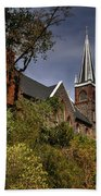 St. Peter's Of Harpers Ferry Beach Towel by Lois Bryan