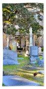 St. Philips Church Cemetery Charleston Sc Beach Towel
