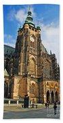 St. Vitus Cathedral Beach Towel