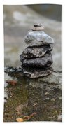 Stacked Stones Beach Towel