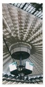 Stadium Ceiling Beach Towel