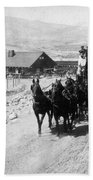 Stagecoach, C Beach Towel