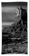 Stagecoach Rock Monument Valley Beach Towel