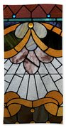 Stained Glass Lc 09 Beach Towel