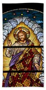 Stained Glass Pc 03 Beach Towel