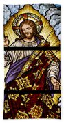 Stained Glass Pc 04 Beach Towel