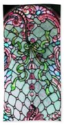 Stained Glass Window -2 Beach Towel