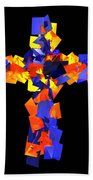 Stained Tries 16 Beach Towel