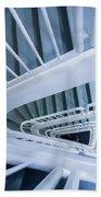 Staircase, Reykjavik Library Beach Towel