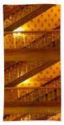 Stairs At The Brown Palace Beach Towel
