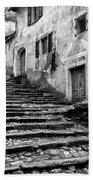 Stairs To Lavertezzo Beach Towel
