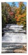 Stairway Falls Beach Towel