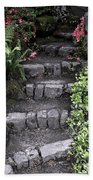 Stairway Path To Gardens Beach Towel