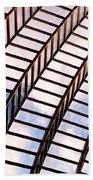 Stairway To Heaven Beach Towel by Rona Black