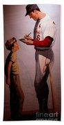 Stan Musial Mural Beach Towel